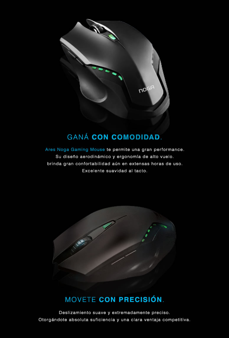 Ares Premium Gaming Mouse